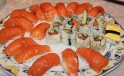 Sushi -hjemmelaget