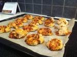 Pizzasnurrer med grønnsaker