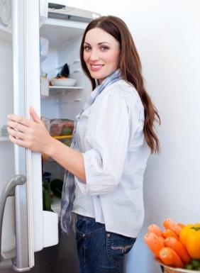 Restemat kjøleskap